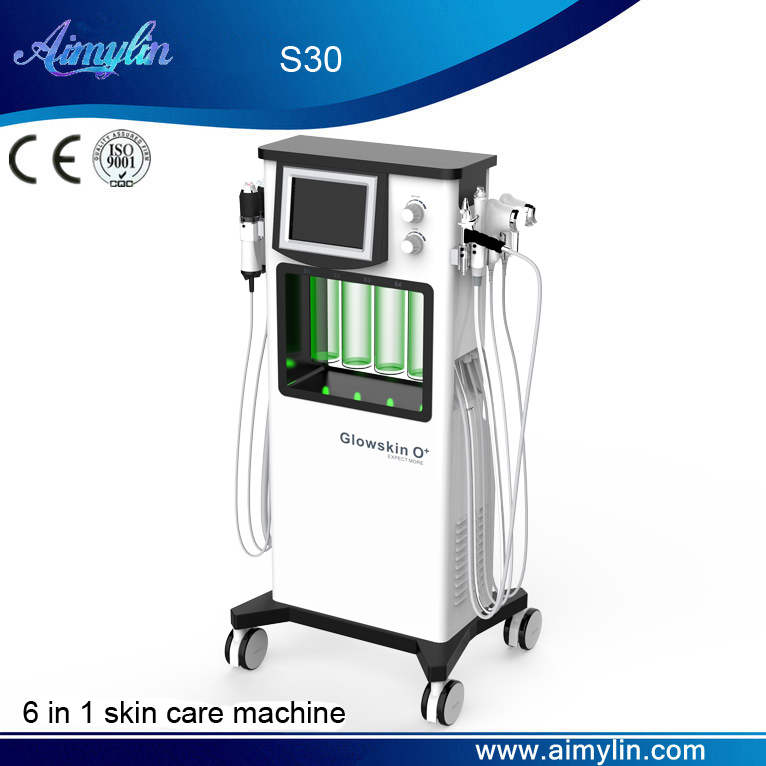 6 in 1 Glowskin O+ carbon oxygen machine S30