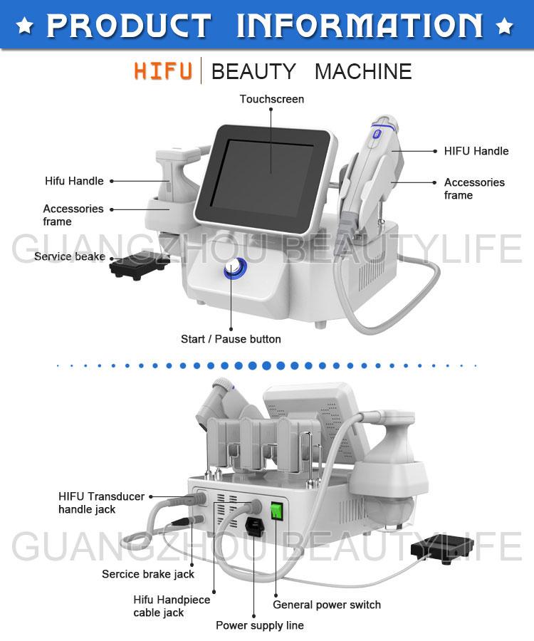 2 in 1 hifu machine