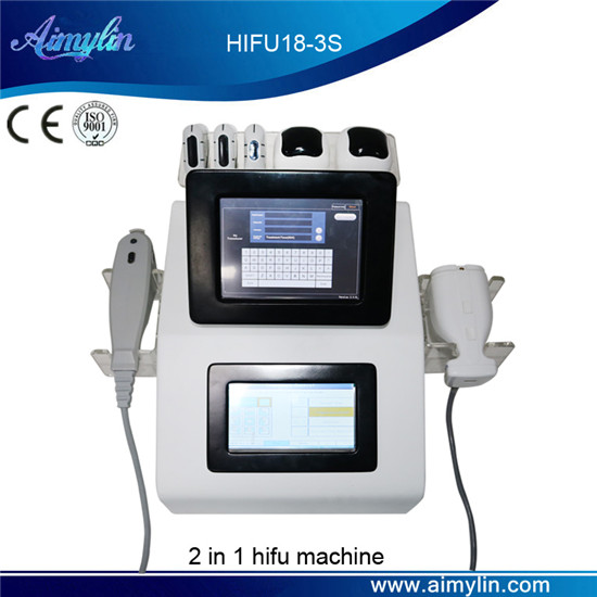 2 in 1 hifu lipohifu beauty device HIFU18-3S