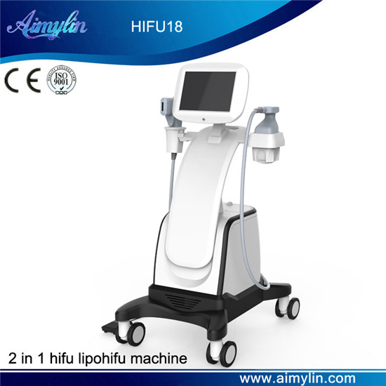 2 in 1 hifu lipohifu beauty machine HIFU18