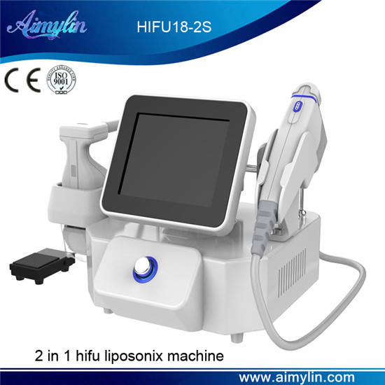 2 in 1 hifu liposonix machine HIFU18-2S