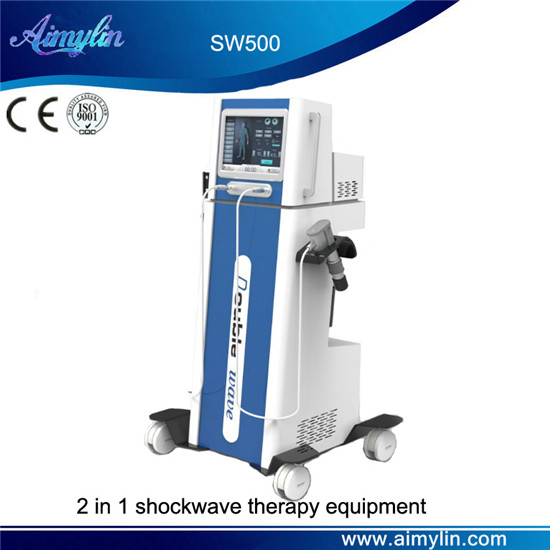 2 in 1 extracorporeal shockwave therapy equipment SW500
