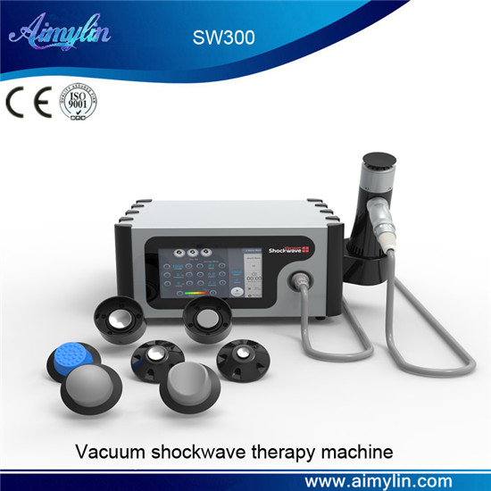 Vacuum shockwave therapy machine SW300