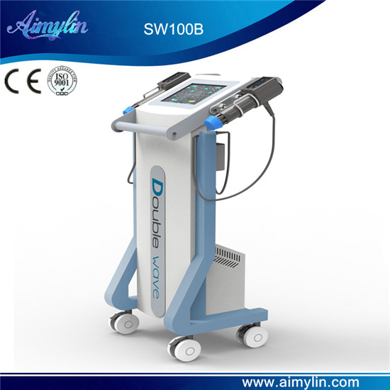 Double handle shcokwave therapy equipment SW100B